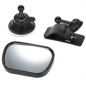 Kaca Spion Back Seat Kids Monitoring - Black - 3