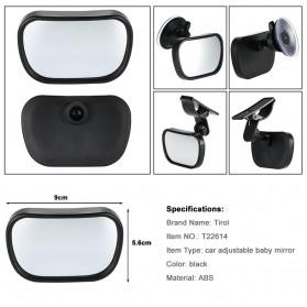 Kaca Spion Back Seat Kids Monitoring - Black - 5