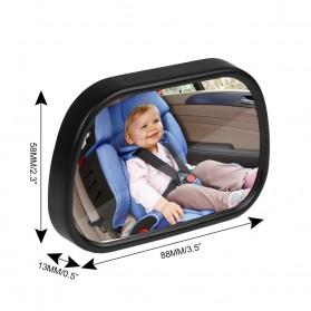 Kaca Spion Back Seat Kids Monitoring - Black - 6