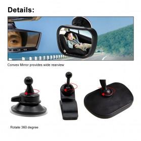 Kaca Spion Back Seat Kids Monitoring - Black - 7