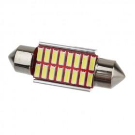 Lampu Mobil LED Canbus 4014 16SMD 36mm 1PCS - White