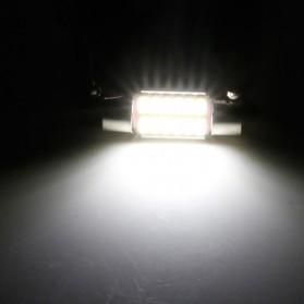 Lampu Mobil Headlight LED Canbus 4014 20SMD 39mm 1 PCS - White - 2