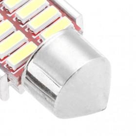 Lampu Mobil Headlight LED Canbus 4014 20SMD 39mm 1 PCS - White - 3