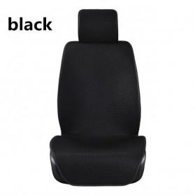 Universal Cover Jok Kursi Mobil Full Non Slip 5 Set - Black