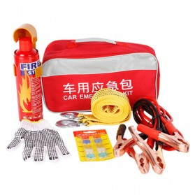 Alloet Kit Keselamatan Mobil Car Emergency Tools 5 in 1 - EK-22