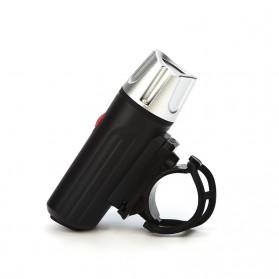Lampu Sepeda LED USB Cree XPG2 300 Lumens Rechargeable - 300ML - Black - 3