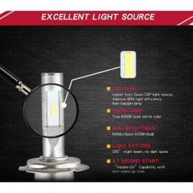Lampu Mobil LED Headlight V5 H11/H9/H8 60W 8400Lm Super Bright 2 PCS - Red - 2