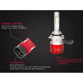 Lampu Mobil LED Headlight V5 H11/H9/H8 60W 8400Lm Super Bright 2 PCS - Red - 3