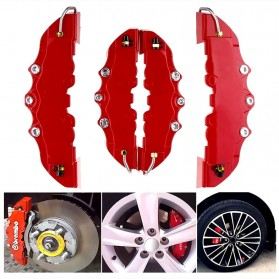 Brembo Cover Caliver Pelindung Rem Cakram Mobil Size L - AA00085 - Red
