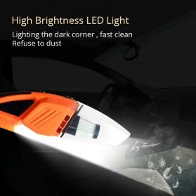 OTOHEROES Vacuum Cleaner Penyedot Debu Mobil 120W with LED Light - C37457 - Black - 3