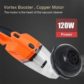 OTOHEROES Vacuum Cleaner Penyedot Debu Mobil 120W with LED Light - C37457 - Black - 4