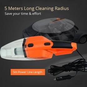 OTOHEROES Vacuum Cleaner Penyedot Debu Mobil 120W with LED Light - C37457 - Black - 5