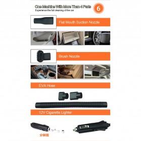 OTOHEROES Vacuum Cleaner Penyedot Debu Mobil 120W with LED Light - C37457 - Black - 7