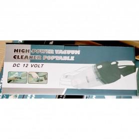 OTOHEROES Vacuum Cleaner Penyedot Debu Mobil 120W with LED Light - C37457 - Black - 11