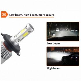 Lampu Mobil LED COB Headlight 8000LM H3 S2 Chip 2 PCS - Silver - 3