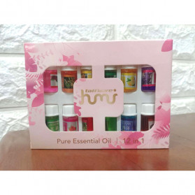 Taffware HUMI Pure Aroma Essential Fragrance Minyak Aromatherapy 12 in 1 3ml - D23860 - 2