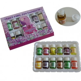 Taffware Pure Aroma Essential Fragrance Minyak Aromatherapy 12 in 1 3ml - Humi D23860 - 6