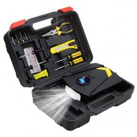 Inflator Pompa Angin Ban Mobil Car Air Compressor 120W with Tool Set - C37723 - Black - 11