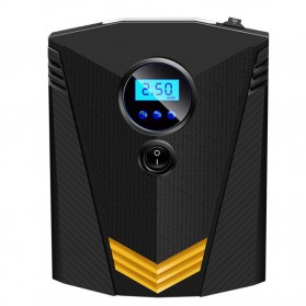 Inflator Pompa Angin Ban Mobil Car Air Compressor 120W with Tool Set - C37723 - Black - 2