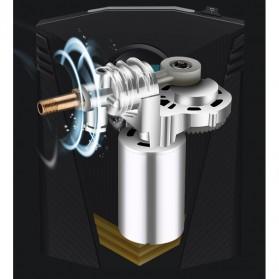 Inflator Pompa Angin Ban Mobil Car Air Compressor 120W with Tool Set - C37723 - Black - 4