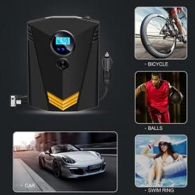 Inflator Pompa Angin Ban Mobil Car Air Compressor 120W with Tool Set - C37723 - Black - 6