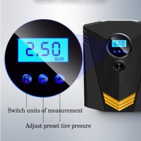 Inflator Pompa Angin Ban Mobil Car Air Compressor 120W with Tool Set - C37723 - Black - 8