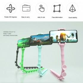 SUPMANGO Universal Smartphone Holder Caterpillar Suction Cup Lazypod Flexible Neck - SH-G6153 - Multi-Color - 3