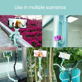 SUPMANGO Universal Smartphone Holder Caterpillar Suction Cup Lazypod Flexible Neck - SH-G6153 - Multi-Color - 4