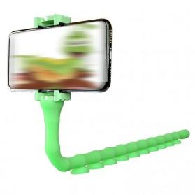 SUPMANGO Universal Smartphone Holder Caterpillar Suction Cup Lazypod Flexible Neck - SH-G6153 - Multi-Color - 7