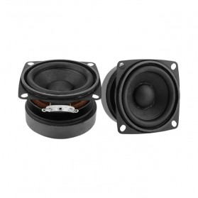 Aiyima Speaker Full Range Mobil HiFi 2 Inch 4Ohm 15W 2 PCS - A1D1614 - Black