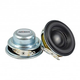 Aiyima Speaker Full Range Mobil HiFi 40mm 4Ohm 5W 2 PCS - A1D375 - Black