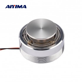 Aiyima Speaker Full Range Mobil HiFi 50mm 4Ohm 25W - A1D011B - Silver