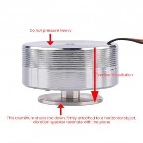 Aiyima Speaker Full Range Mobil HiFi 50mm 4Ohm 25W - A1D011B - Silver - 6