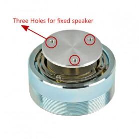Aiyima Speaker Full Range Mobil HiFi 50mm 4Ohm 25W - A1D011B - Silver - 7