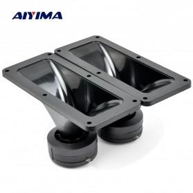 Aiyima Speaker Tweeter Mobil HiFi 187x80mm 150W 2 PCS - A1D954 - Black