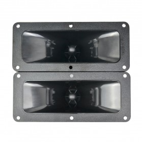 Aiyima Speaker Tweeter Mobil HiFi 187x80mm 150W 2 PCS - A1D954 - Black - 2
