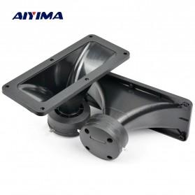 Aiyima Speaker Tweeter Mobil HiFi 187x80mm 150W 2 PCS - A1D954 - Black - 5
