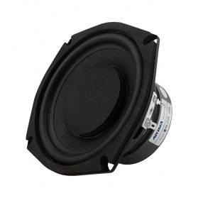 Aiyima Speaker Subwoofer Mobil HiFi 5.25 Inch 4Ohm 80W 1 PCS - A1D1584C - Black - 2