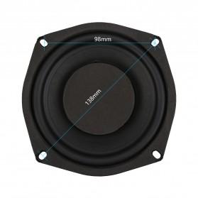 Aiyima Speaker Subwoofer Mobil HiFi 5.25 Inch 4Ohm 80W 1 PCS - A1D1584C - Black - 3