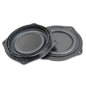 Aiyima DIY Diafragma Speaker Mobil Passive Bass Radiator Vibration 4 Inch 2 PCS - A1D176 - Black - 2