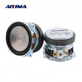 Aiyima Speaker Full Range Mobil HiFi 52mm 8Ohm 25W 2 PCS - A1D1663 - Black
