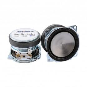 Aiyima Speaker Full Range Mobil HiFi 52mm 8Ohm 25W 2 PCS - A1D1663 - Black - 2