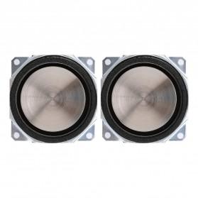 Aiyima Speaker Full Range Mobil HiFi 52mm 8Ohm 25W 2 PCS - A1D1663 - Black - 3