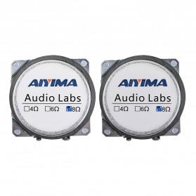 Aiyima Speaker Full Range Mobil HiFi 52mm 8Ohm 25W 2 PCS - A1D1663 - Black - 5