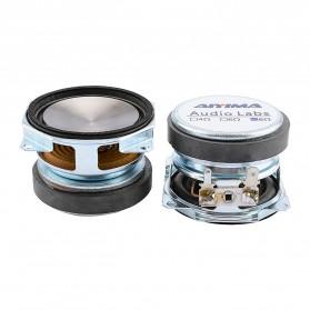 Aiyima Speaker Full Range Mobil HiFi 52mm 8Ohm 25W 2 PCS - A1D1663 - Black - 6