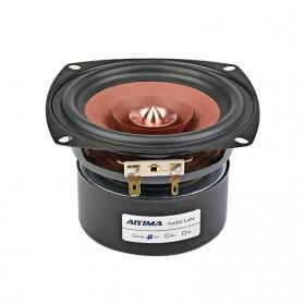 Aiyima Speaker Full Range Mobil HiFi 4 Inch 8Ohm 30W 1 PCS - A1D1307D - Black