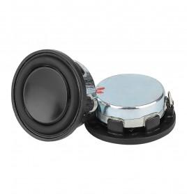 Aiyima Speaker Full Range Mobil HiFi 28mm 4Ohm 3W 2 PCS - Black