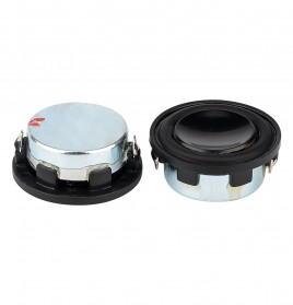 Aiyima Speaker Full Range Mobil HiFi 28mm 4Ohm 3W 2 PCS - Black - 3