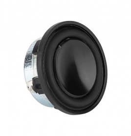 Aiyima Speaker Full Range Mobil HiFi 28mm 4Ohm 3W 2 PCS - Black - 6