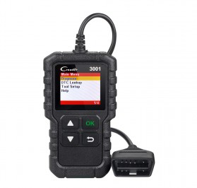 Creader LAUNCH Scanner Diagnostic Mobil OBDII (ORIGINAL) - 3001 - Black